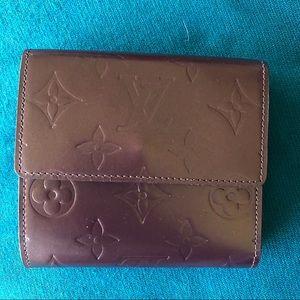 Authentic LOUIS VUITTON Vernis Bifold Wallet